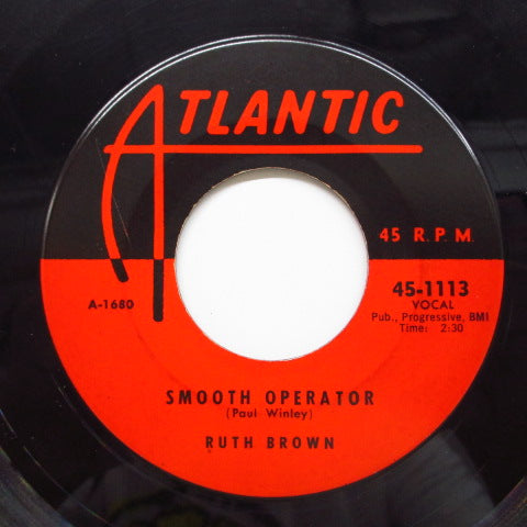 RUTH BROWN - Smooth Operator (Orig)