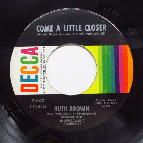 RUTH BROWN - I Love Him And I Know It (Orig)