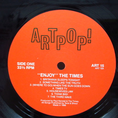 TIMES, THE - Enjoy (UK Orig.LP/GS)