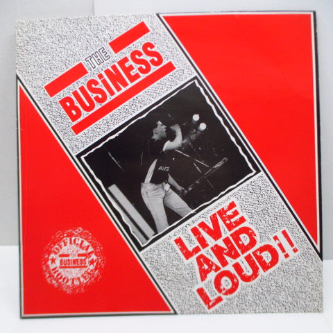 BUSINESS, THE - Live And Loud!! (UK Orig.LP)