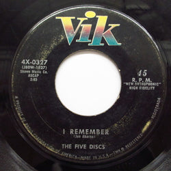 FIVE DISCS - I Remember ('58 Vik Reissue)