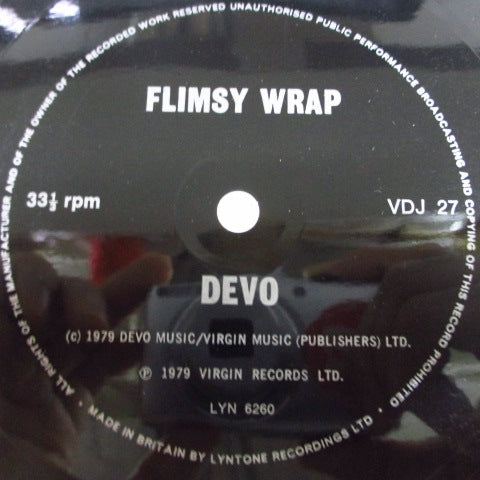 "DEVO - Flimsy Wrap (UK Ltd.Flexi 7"")"