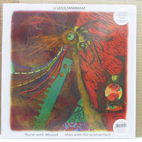 "NURSE WITH WOUND - Man With The Woman Face (UK Ltd.Clear Vinyl 12"")"