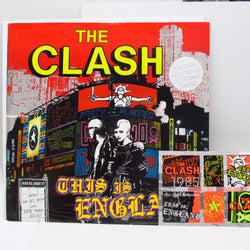"CLASH, THE - This Is England +2 (UK Orig.12""+Sticker Postcard)"