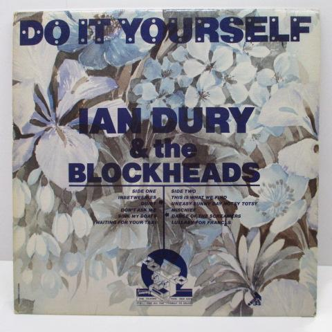 IAN DURY & THE BLOCKHEADS - Do It Yourself(UK Orig.LP/CROWN 44088)