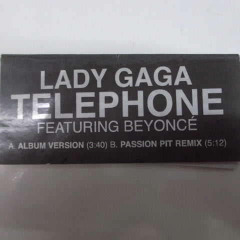 "LADY GAGA Feat. BEYONCE - Telephone (UK/EU Ltd.Picture 7"")"