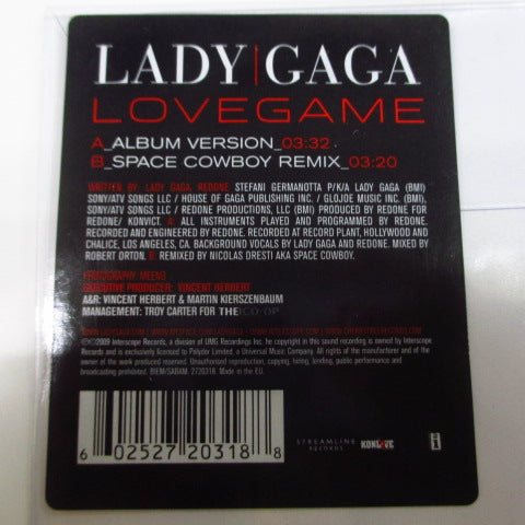 "LADY GAGA - Lovegame (EU Ltd.Picture 7"")"