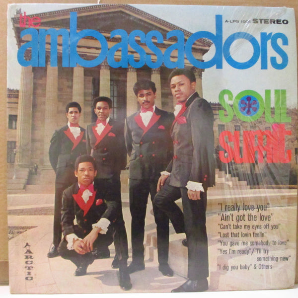 AMBASSADORS (アンバサダーズ)  - Soul Summit (US Orig.Stereo LP)