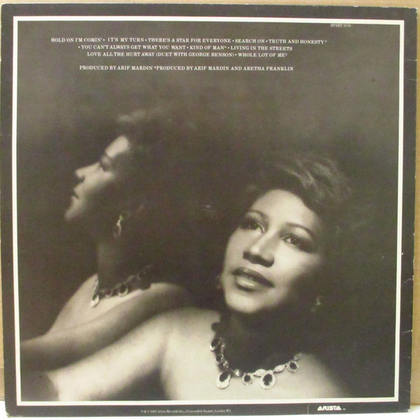 ARETHA FRANKLIN (アレサ・フランクリン)  - Love All The Hurt Away (UK Orig.Stereo LP)