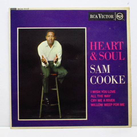 SAM COOKE (サム・クック)  - Heart & Soul / I Wish You Love +3 (UK Orig.EP/CFS)