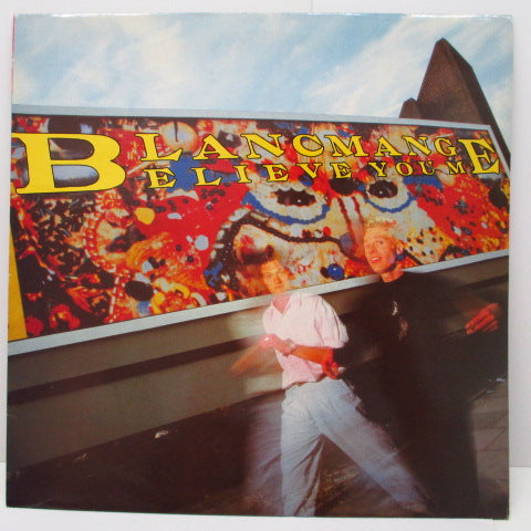 BLANCMANGE - Believe You Me (UK Orig.LP)