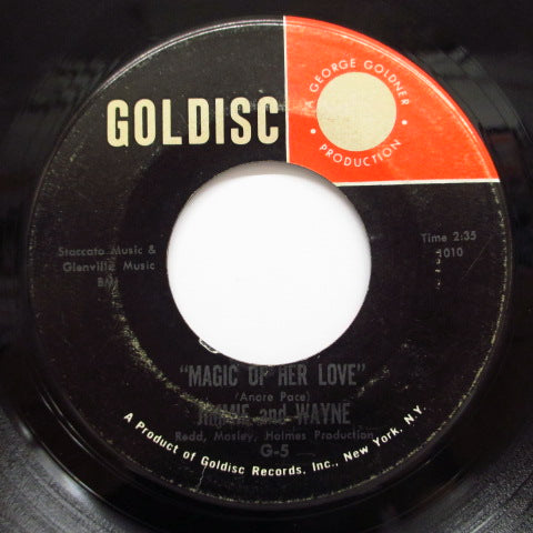 JIMMIE & WAYNE - You Better Believe It ('63 Goldisc)