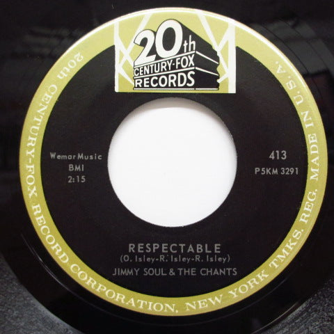 JIMMY SOUL & THE CHANTS - Respectable (Orig)