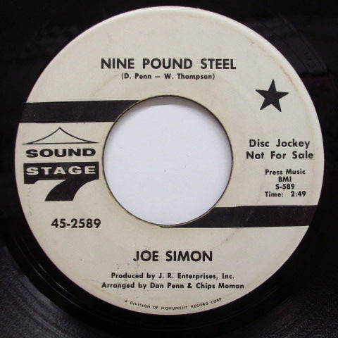 JOE SIMON - The Girls Alright With Me (Promo)
