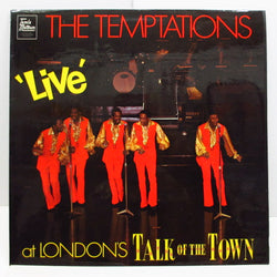 TEMPTATIONS - Live At London's Talk Of The Town (UK:Orig.)