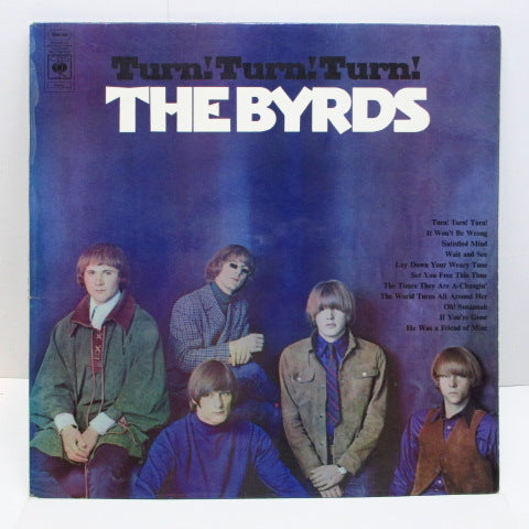 BYRDS - Turn ! Turn ! Turn ! (UK Orig.Stereo/CS)