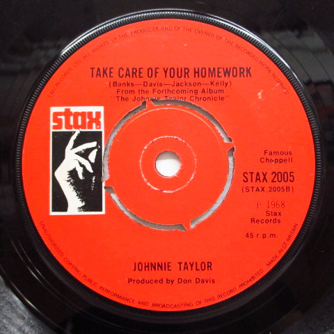 JOHNNIE TAYLOR - Who's Making Love (UK Reissue)