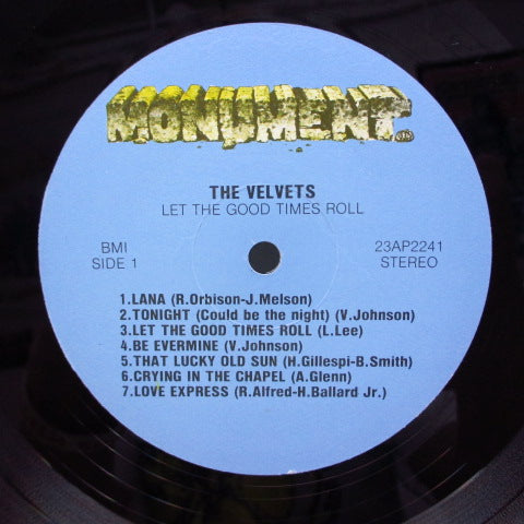 VELVETS - Let The Good Times Roll (Euro Stereo 2xLP)