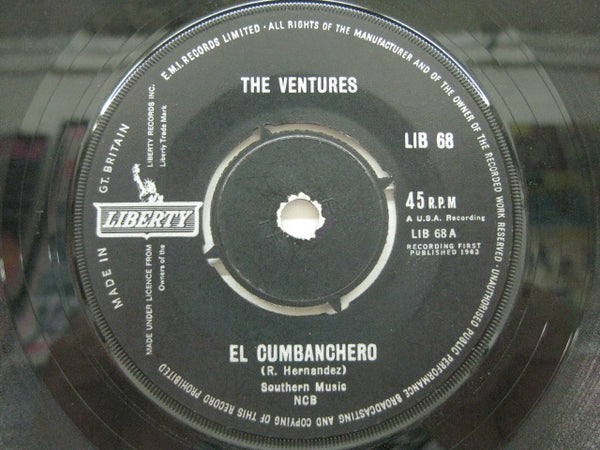 VENTURES - El Cumbanchero (UK Orig.)