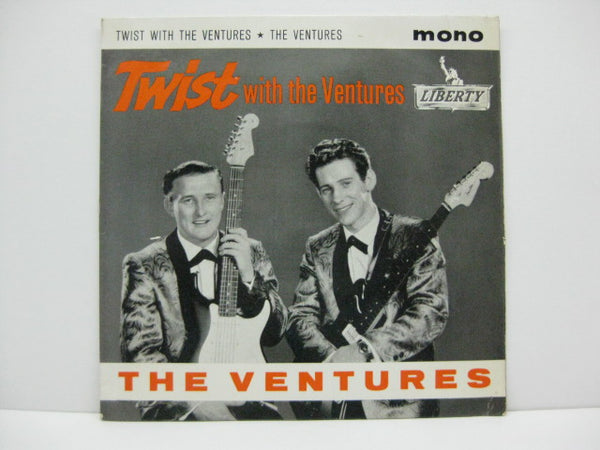 VENTURES - Twist With The Ventures (UK EP)