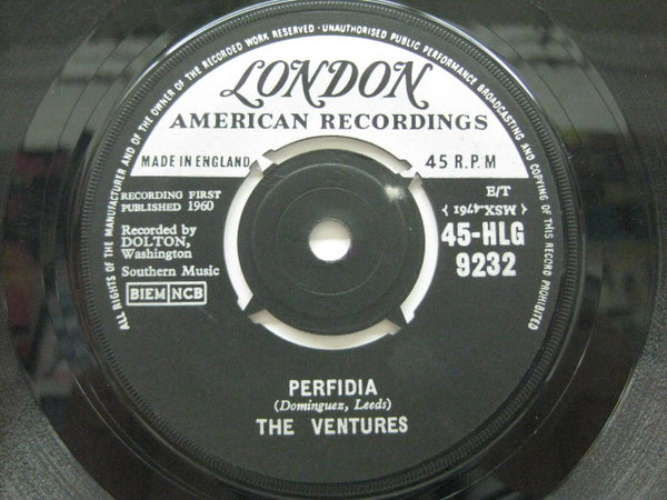 VENTURES - Perfidia / No Trespassing (UK Orig.)