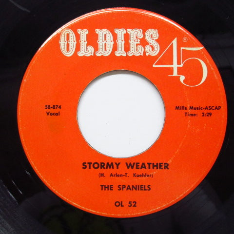 SPANIELS - Stormy Weather (70's Reissue)
