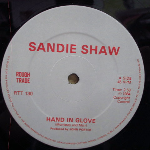"SANDIE SHAW - Hand In Glove +2 (UK Orig.12"")"