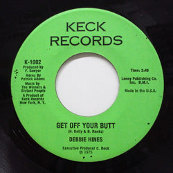 DEBBIE HINES - Get Off Your Butt / Sacrifices