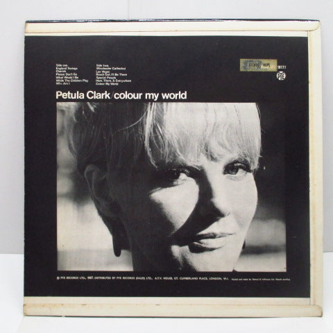 PETULA CLARK - Colour My World (UK Orig.Stereo LP/CFS)