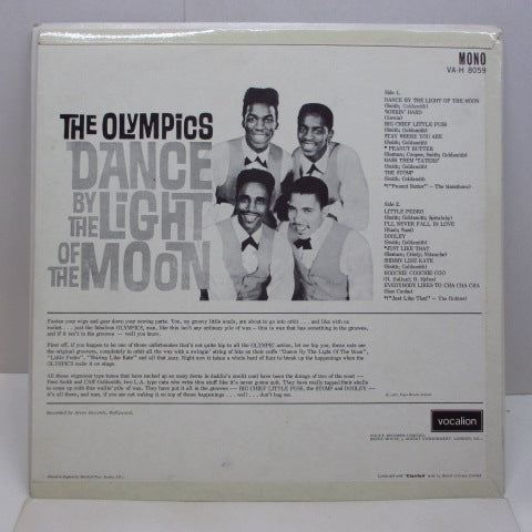 OLYMPS etc - Dance By The Light of the Moon (UK Orig.Mono)