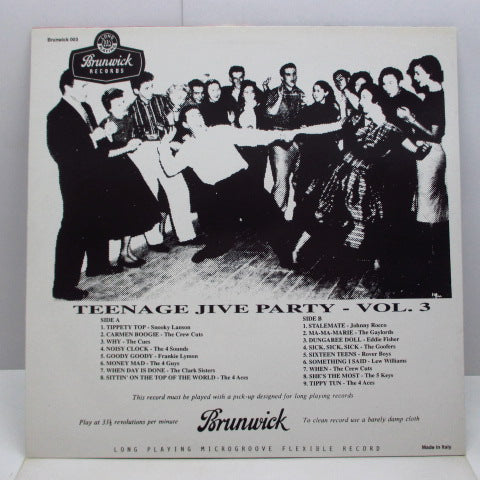 V.A. - Teenage Jive Party Vol.3 (Euro LP)