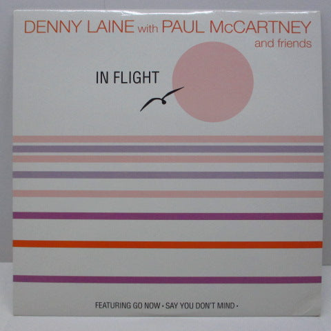 DENNY LAINE with PAUL McCARTNEY  - In Flight (EU Reissue LP)