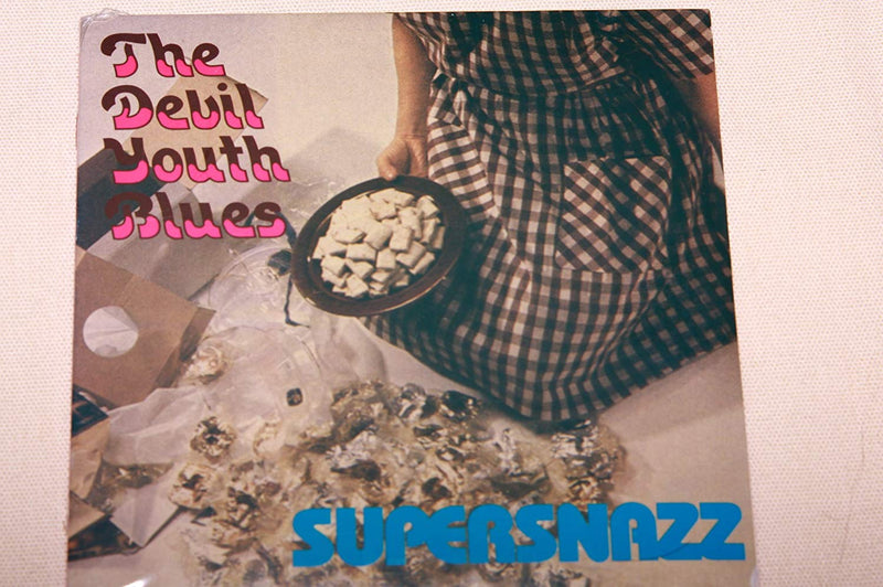 SUPERSNAZZ - DEVIL YOUTH BLUES (LIMITED COLOR LP)