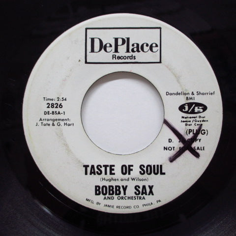 BOBBY SAX - Sock It  (Promo)