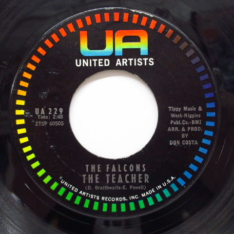 FALCONS - The Teacher / Waiting For You