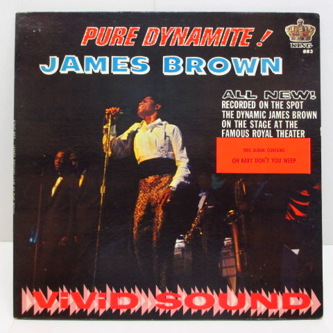 JAMES BROWN - Pure Dynamite ! Live At The Royal (US:Orig.MONO)