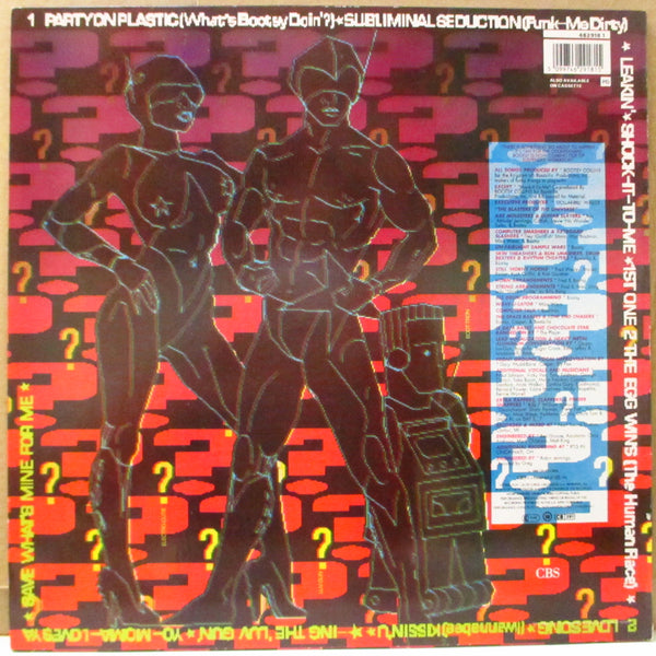 BOOTSY COLLINS (ブーツィー・コリンズ)  - What's Bootsy Doin' ? (UK Orig.Stereo LP+Inner)