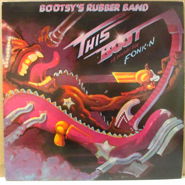 BOOTSY'S RUBBER BAND (ブーツィーズ・ラバー・バンド)  - This Boot Is Made For Fonk-N (UK Orig.LP+Inner)