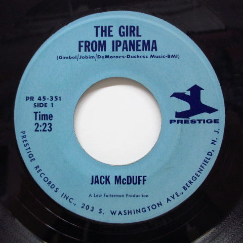 JACK McDUFF (BROTHER JACK McDUFF) - The Girl From Ipanema (Orig)