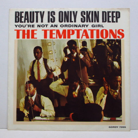 "TEMPTATIONS (テンプテーションズ)  - Beauty Is Only Skin Deep (US Orig.7""+PS)"