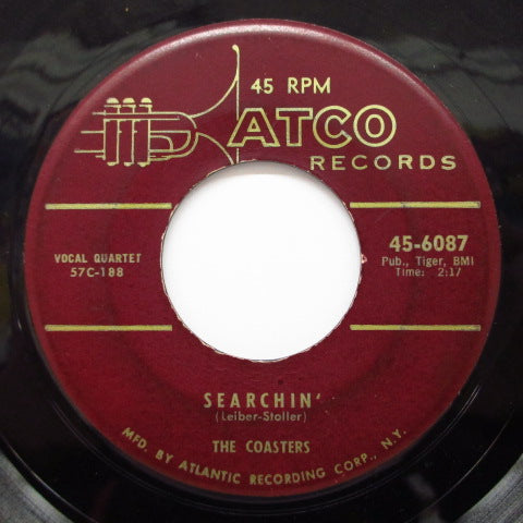 COASTERS - Searchin' / Young Blood (Orig.Maroon Label)