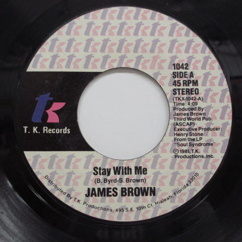 JAMES BROWN - Smokin' & Drinkin' / Stay With Me (Orig)