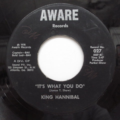 KING HANNIBAL(MIGHTY HANNIBAL) - The Truth Shall Make You Free (Aware)