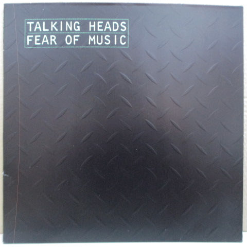 TALKING HEADS - Fear Of Music (EU 2nd Press.LP/Embossed CVR)
