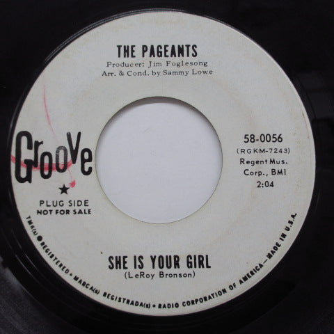 PAGEANTS - She Is Your Girl (Promo)