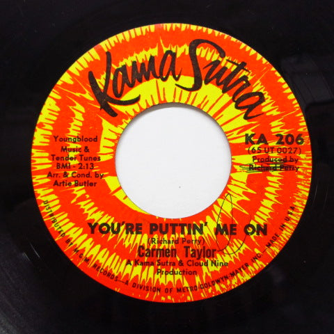 CARMEN TAYLOR - You're Puttin' Me On / Hey Son (Orig)