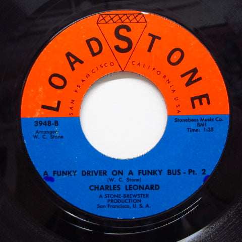 CHARLES LEONARD - Funky Driver On A Funky Bus (Part.1&2)