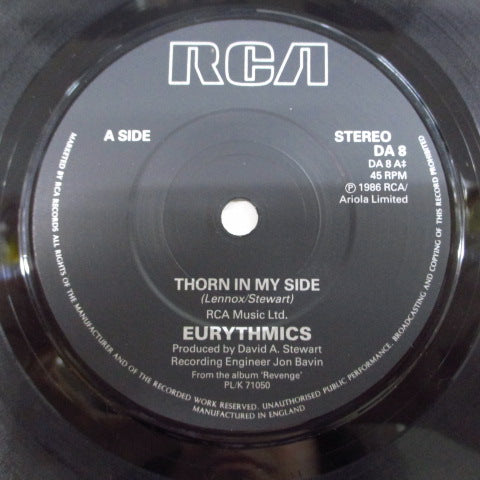 "EURYTHMICS - Thorn In My Side (UK Orig.7"")"