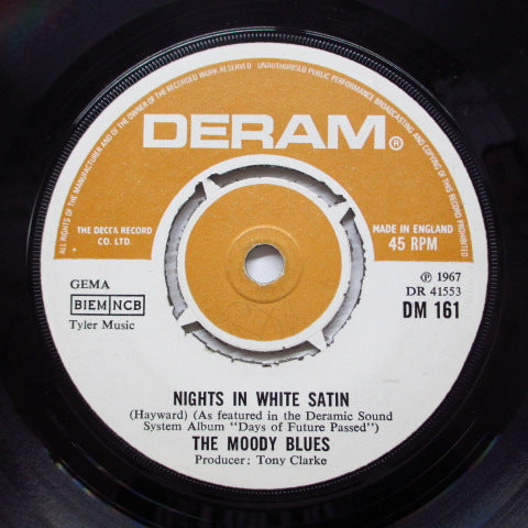 MOODY BLUES - Nights In White Satin (UK Orig.)