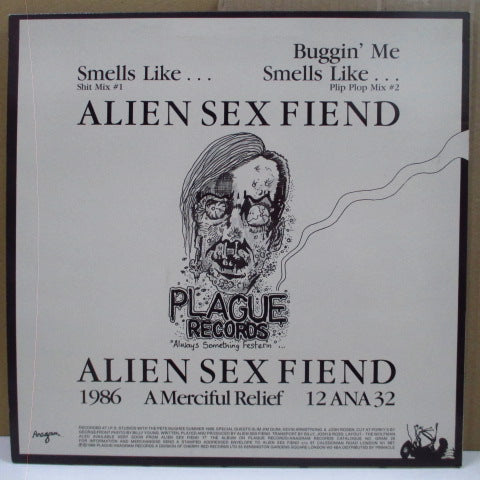 "ALIEN SEX FIEND - Smells Like... (UK RE.Brown Vinyl 12"")"